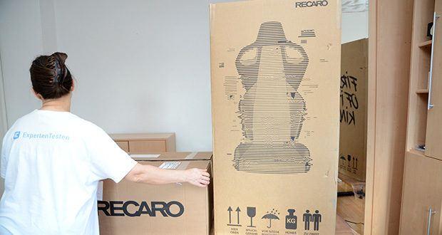 Recaro Gamingstuhl Exo FX im Test - Produktgewicht, 26,2 kg; Belastbarkeit: 150 kg