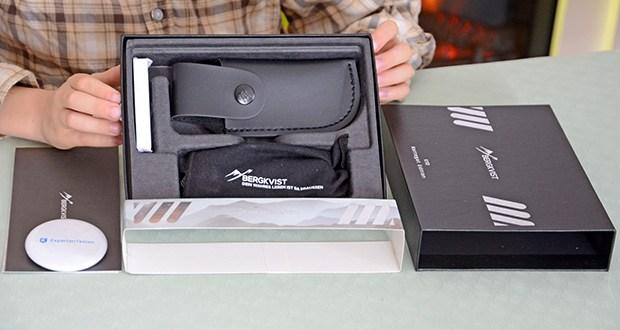 BERGKVIST K10 Zweihandmesser Taschenmesser im Test - wurde als Zweihandmesser konzipiert und darf geführt werden
