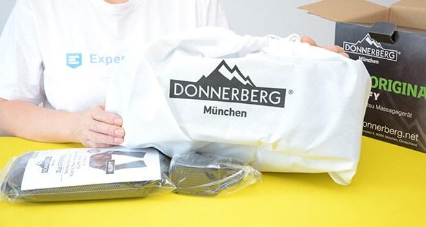 Donnerberg Klopfy NM-088 Nackenmassagegerät im Test - Abmessungen: 54 x 40 x 14.5 cm, Gewicht: ca. 2,21 kg