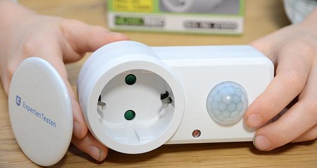 Chilitec Zwischenstecker mit Bewegungsmelder im Test - schaltet fast alle Verbraucher, z.B. Ihr Hof- oder Keller-Licht