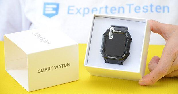 KOSPET Rock Smartwatch im Test - 1,69-Zoll-Bildschirm
