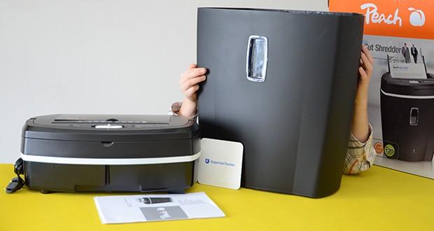 Peach Altenvernichter PS500-50 im Test - Schnittart: Partikelschnitt, Sicherheitsstufe [gemäß DIN 66399]: P-4