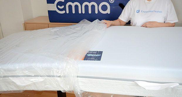 Emma Two Matratze 90x200cm im Test - optimierte Aufteilung der Liegefläche