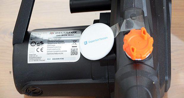 Deltafox Elektro-Kettensäge DG-ECS1830 im Test - starker, kraftvoller 1800 Watt Motor