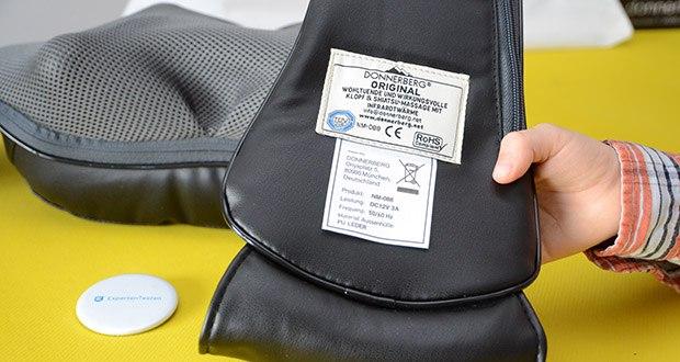 Donnerberg Klopfy NM-088 Nackenmassagegerät im Test - auf elektromagnetische Verträglichkeit TÜV Süd geprüft