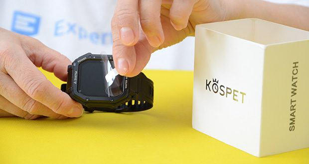 KOSPET Rock Smartwatch im Test - 24H Herzfrequenz-Monitor