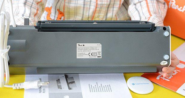 Peach Laminiergerät PL120 im Test - Leistung: 1200 W