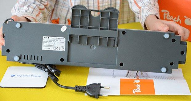 Peach Thermobindegerät PB200-70 im Test - hochwertige Verarbeitung und hohe Benutzerfreundlichkeit