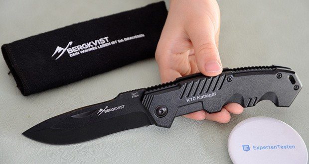 BERGKVIST K10 Zweihandmesser Taschenmesser im Test - Klingenlänge Total: 8,5 cm