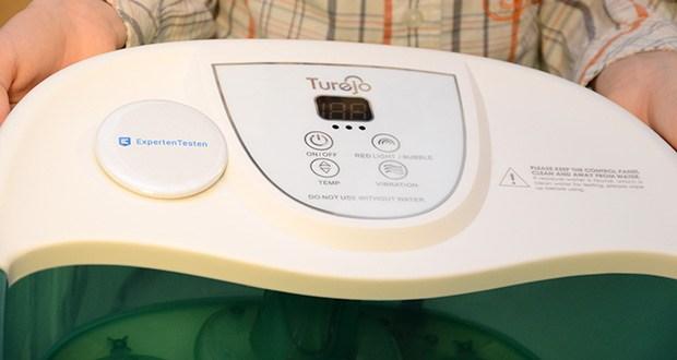 Turejo Fußbad mit Vibration im Test - 3-Modus-Fußbad-Spa-Erlebnis