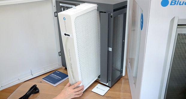 BLUEAIR Luftreiniger Classic 480i im Test - integrierte High Tech Sensoren für Partikel und VOCs
