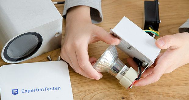 Chilitec LED-Wandleuchte CTW-1 im Test - nutzen Sie ein GU10 Leuchtmittel Ihrer Wahl