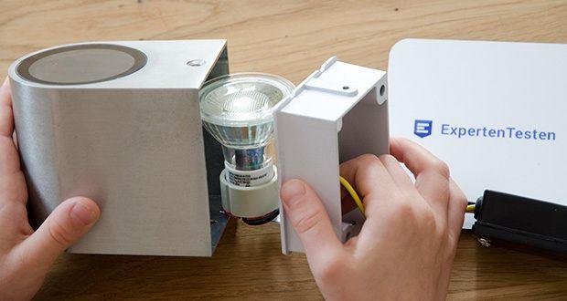 Chilitec LED Strahler GU10 H50 COB+ im Test - Lichtfarbe warmweiß, Farbtemperatur 3000K