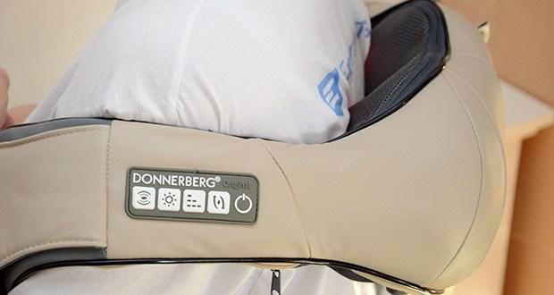 Donnerberg Original Premium NM089 Nackenmassagegerät im Test - lässt sich leicht an verschiedene Körperteile anpassen