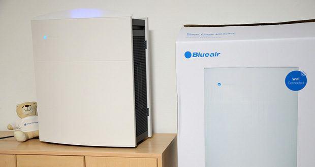 BLUEAIR Luftreiniger Classic 480i im Test - Luftreiniger in medizinischer Qualität: VOC-System-Sensoren, PM2.5