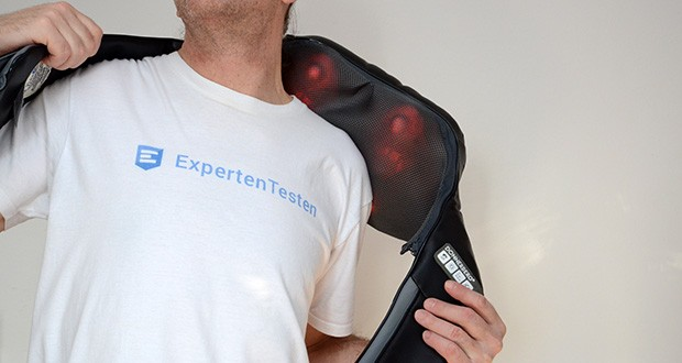 Donnerberg Klopfy NM-088 Nackenmassagegerät im Test - die Kombination aus Shiatsu und Klopfmassage bereitet Ihnen ein abwechslungsreiches Massageerlebnis