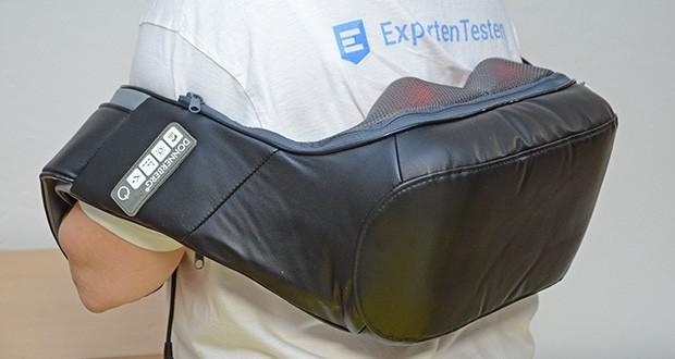 Donnerberg Klopfy NM-088 Nackenmassagegerät im Test - der langlebige Kraftmotor von Donnerberg ist jetzt noch leistungsfähiger und unterstützt somit die zwei wirkungsvollen Massagetechniken optimal