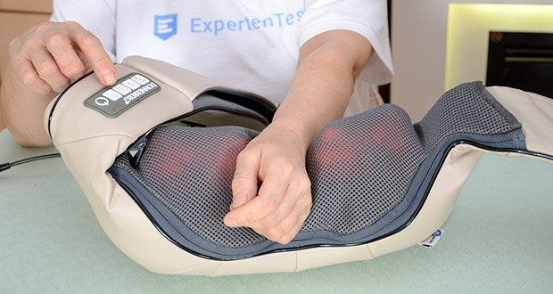 Donnerberg Original Premium NM089 Nackenmassagegerät im Test - geeignet für Massage am Nacken, Schultern, Rücken, Beine, Arme, Taille, Bauch