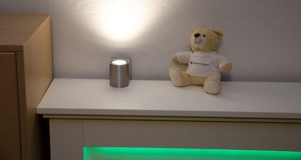 Chilitec LED-Wandleuchte CTW-1 im Test - diese elegante und hochwertige Wandleuchte ist ein echtes Schmuckstück für Hauseingang oder Terrasse