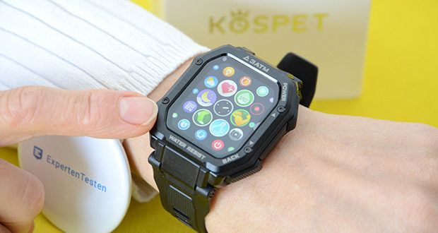 KOSPET Rock Smartwatch im Test - mit 20 Sportmodi