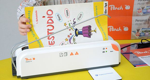 Peach Thermobindegerät PB200-70 im Test - die moderne Lösung um Dokumente zu binden