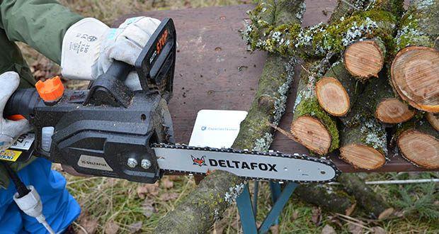 Deltafox Elektro-Kettensäge DG-ECS1830 im Test - sichere und leichte Anwendung