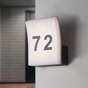 Die Hausnummernleuchte im Vergleich