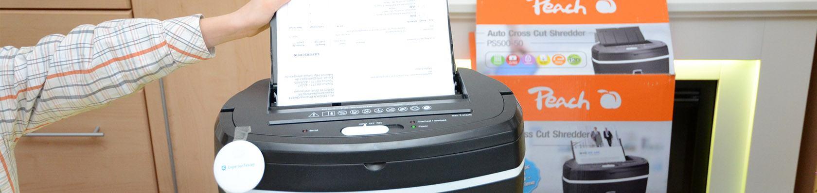 Papierschredder im Test auf ExpertenTesten.de