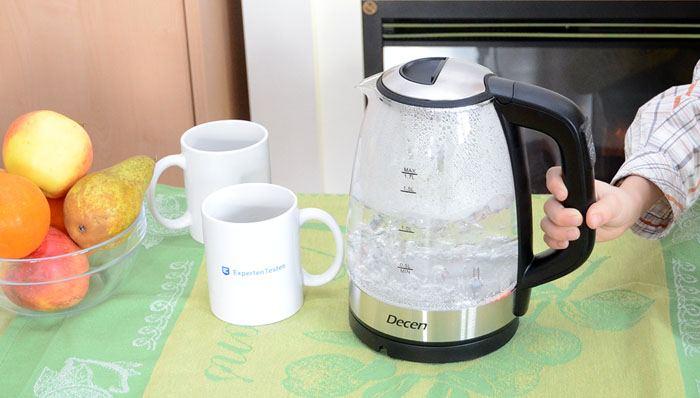 Glas Wasserkocher im Test auf ExpertenTesten.de