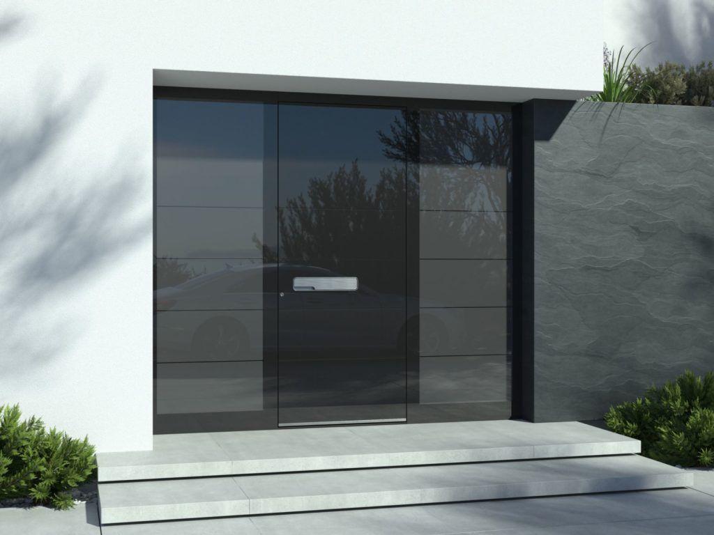 Elegante Haustüre