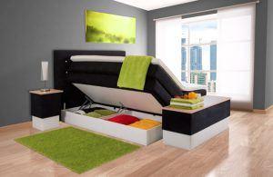 Polsterbett mit Bettkasten im Vergleich
