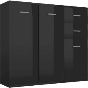 Das Sideboard schwarz im Vergleich