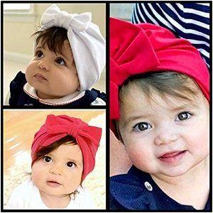 Ein Stirnband für das Baby im Vergleich