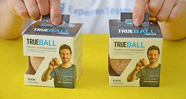 Truetape Trueball Faszienball im Test - nachhaltiger Rohstoff, echte Naturqualität