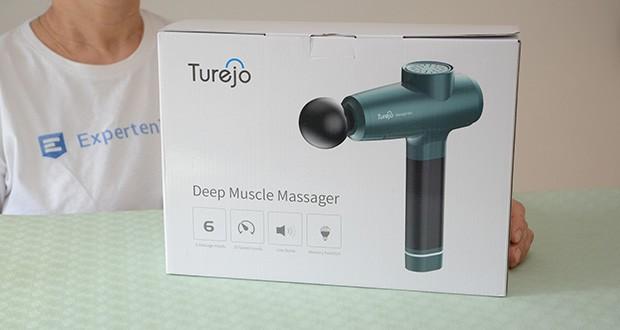 Turejo Massagepistole im Test - ist durch 24-monatige Garantie und das 30-tägige kostenlose Rückgaberecht für den sorgenfreien Kauf abgedeckt