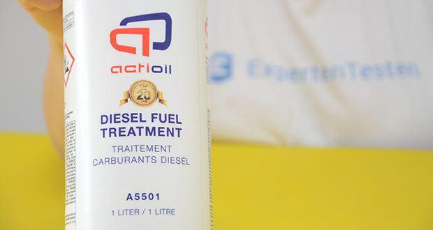 Actioil A550 Dieselpower im Test - senkt den Kraftstoffverbrauch