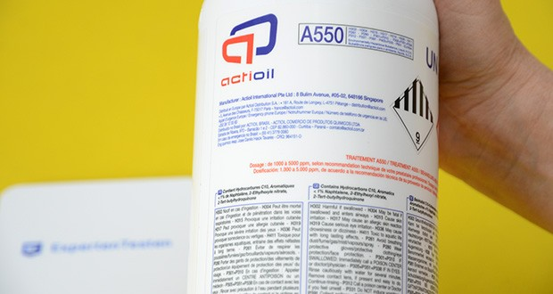 Actioil A550 Dieselpower im Test - eliminiert negative Effekte von Biodiesel