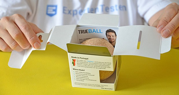 Truetape Trueball Faszienball im Test - 100% kork