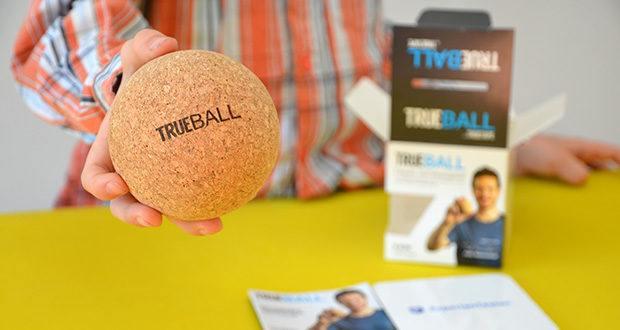 Truetape Trueball Faszienball im Test - sehr druckfest und widerstandsfähig