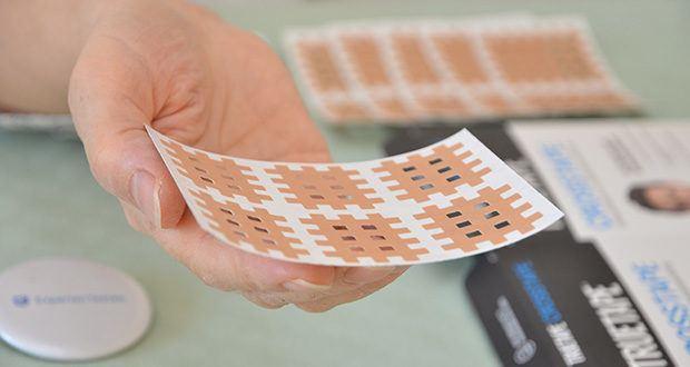 Truetape Crosstapes Pflaster im Test - Größe M: Optimal für die Anwendung an größeren Muskelgruppen und mittelgroßen Gelenken z.B. an den Armen, dem Nacken, dem Handgelenk oder Ellenbogen