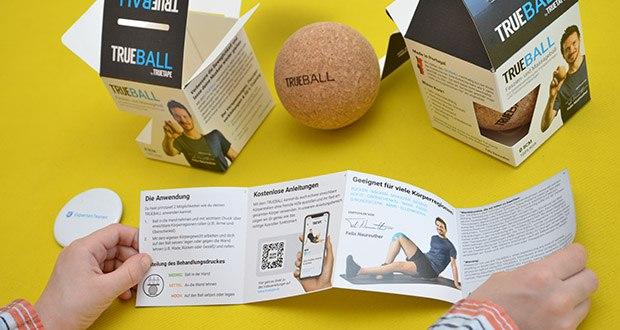 Truetape Trueball Faszienball im Test - der Grund für Verspannungen ist häufig verklebtes oder verhärtetes Fasziengewebe durch zu wenig Bewegung oder eine unnatürliche Körperhaltung, z.B. am Arbeitsplatz