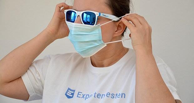 OFM Medical OP-Maske Typ IIR im Test - TYP IIR höchste Filterstufe unter den Mund-Nasen-Schutz Masken nach DIN EN 14683