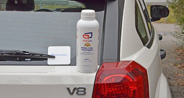 Actioil A550 Dieselpower im Test - mit nur einer Behandlung alle 6-8 Monate erhalten Sie alle Vorteile von Actioil