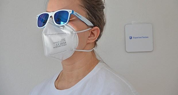 OFM FFP2 Atemschutzmasken im Test - hoher Tragekonformt - passen ideal zu jeder Gesichtsform