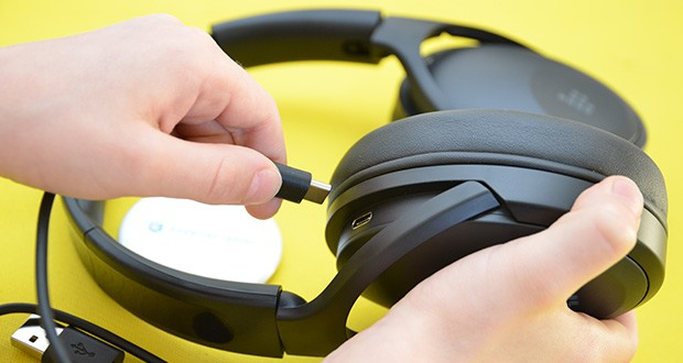 Bluetooth Kopfhörer Tronsmart Apollo Q10 im Test - USB Typ C aufladen und bis zu 100 Stunden Spielzeit
