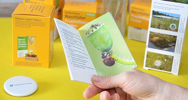 Dr. Reckhaus Fruchtfliegen-Retter mit Nachfüller im Test - inkl. Ratgeber mit vielen Präventionstipps