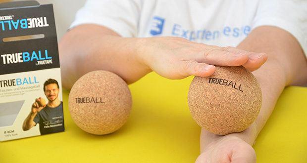 Truetape Trueball Faszienball im Test - löse Verspannungen, optimiere deine Regeneration nach dem Sport und verbessere die Gelenkbeweglichkeit