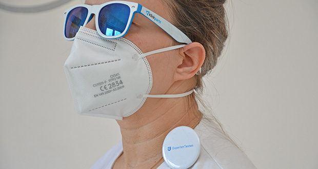 OFM FFP2 Atemschutzmasken im Test - ist perfekt zum Einkaufen und im ÖPNV
