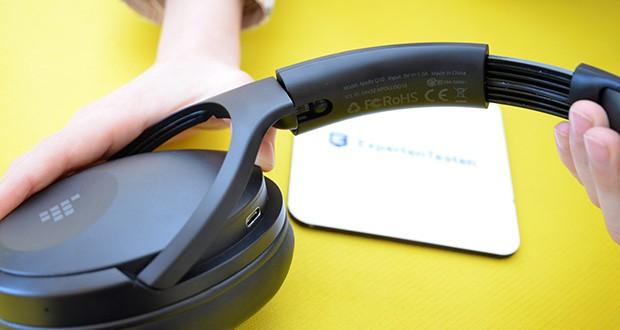 Bluetooth Kopfhörer Tronsmart Apollo Q10 im Test - premium convenient foldable design