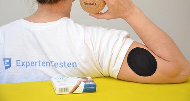 Truetape Sensorpatch Tapeverband im Test - wurde entwickelt, damit du dir nie wieder Gedanken um die Sicherheit deines CGM-Sensors machen musst. Egal ob Sport, Urlaub, Schwimmen oder enge Kleidung, dein Sensor bleibt wo er hingehört, versprochen